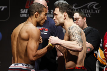 Jose Aldo and Frankie Edgar