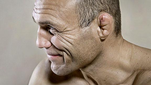 MMA Champion Randy Couture Portrait Session