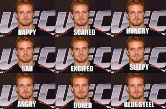 gunnar nelson excited