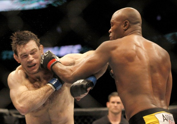 forrest griffin anderson silva 2