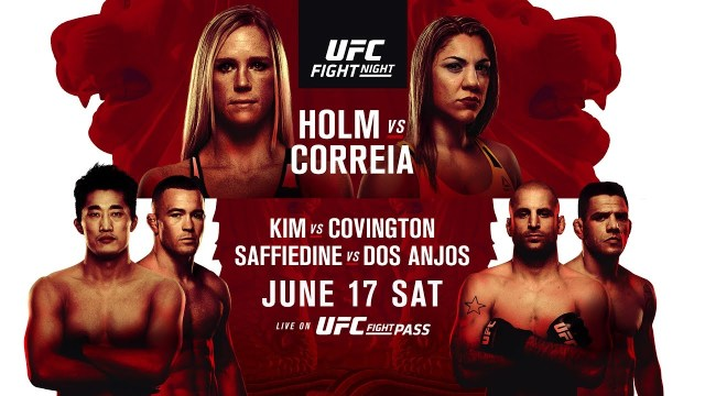 Holly Holm Bethe Correa UFC Fight Night