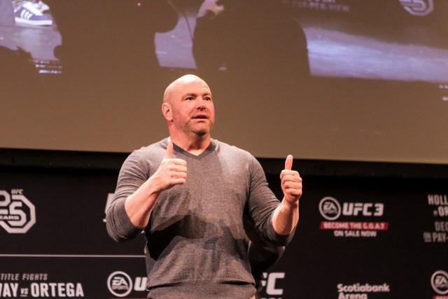 Dana White UFC 231