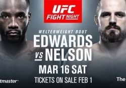 UFC London Gunnar Nelson Leon Edwards