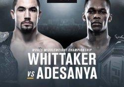 UFC 243 Whittaker Adesanya