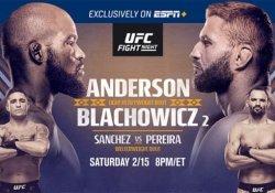 UFC Corey Anderson Jan Blachowivz