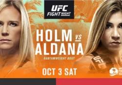 UFC Holm vs. Aldana