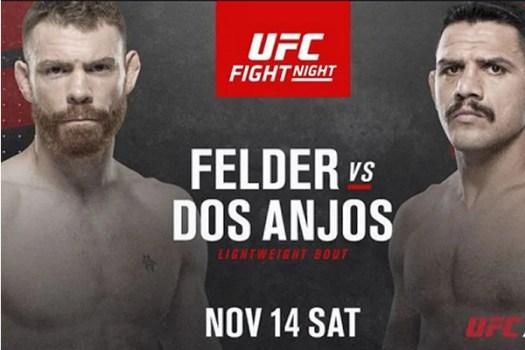 UFC Fight Night 183: Felder Vs Dos Anjos Results (Live)