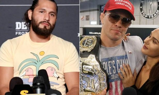 UFC: Jorge Masvidal blasts 'crotch sniffer' Colby Covington