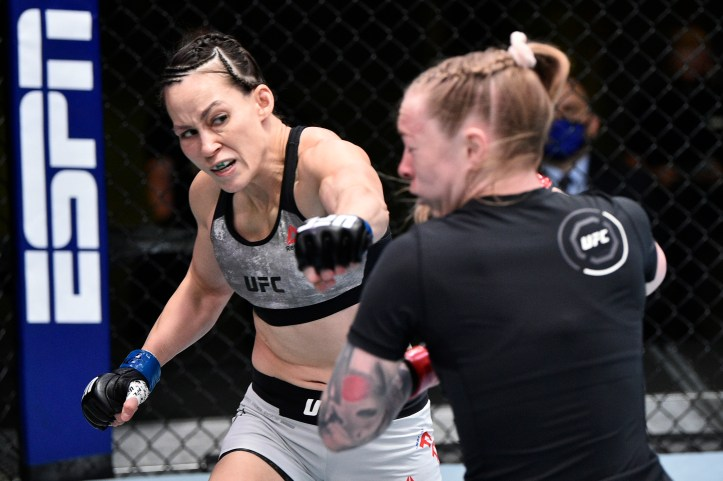 The former Invicta Atomweight champion, Jinh Yu Frey, desperately needs to carve herself a small streak if she wants to remain in the UFC | Yoder vs Frey