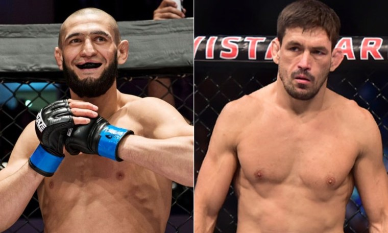 Khamzat Chimaev reacted to the statement of Israel Adesanya