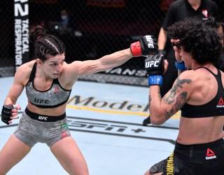 Mackenzie Dern explains why she didn't believe coach Jason Parillo during UFC 256 win