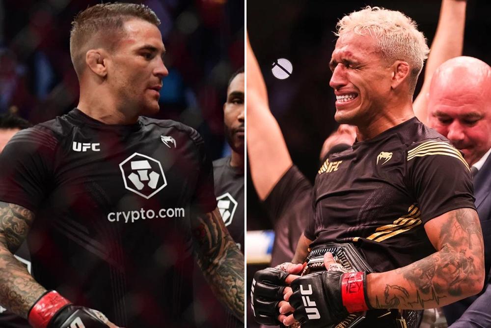 Dustin Poirier praises UFC champ Charles Oliveira