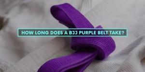 How Long Does A BJJ Purple Belt Take?