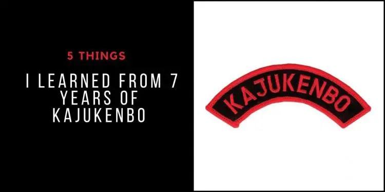 5 Things I Learned From 7 Years of Kajukenbo