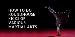 How to Do Roundhouse Kicks of Various Martial Arts