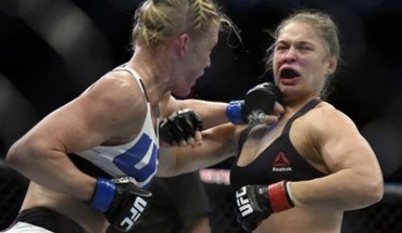 Ronda rousey holly holm ufc 193.