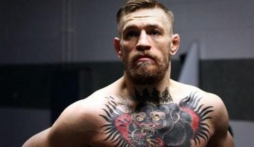 Conor McGregor UFC featherweight champion.