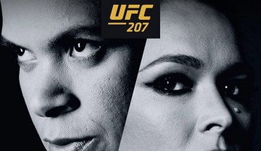UFC 207 Amanda Nunes vs Ronda Rousey.