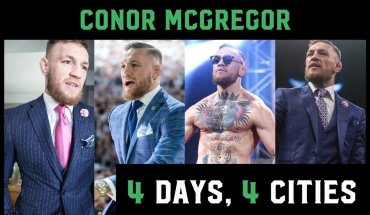 Conor McGregor and team footage.