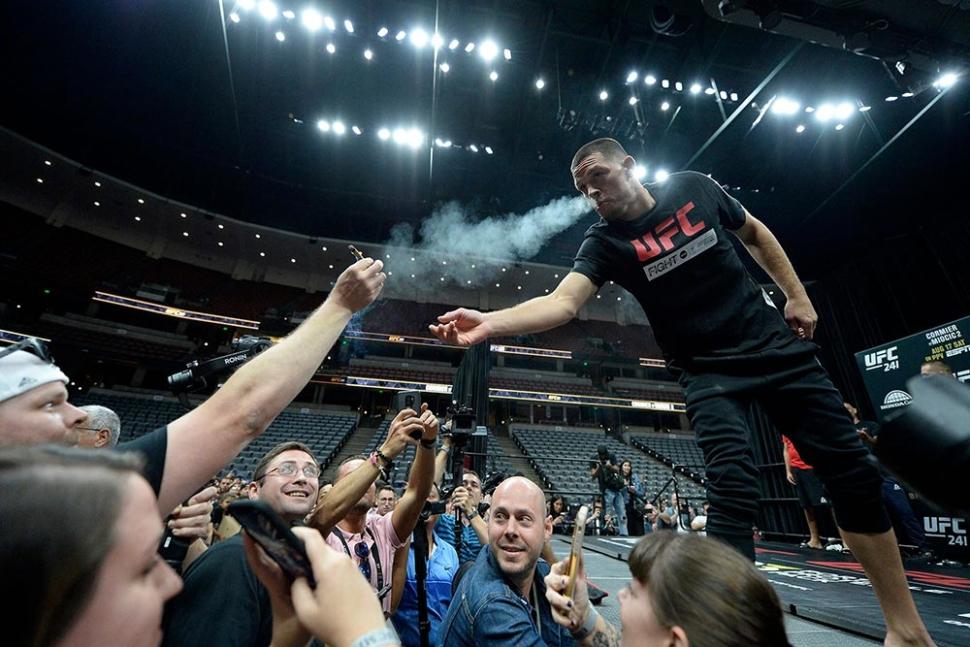 Nevada will no longer discipline UFC fighters for using marijuana