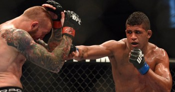 Gilbert Durinho esta fora do UFC Orlando.(Créditos: Kyle Terada USA TODAY Sports)