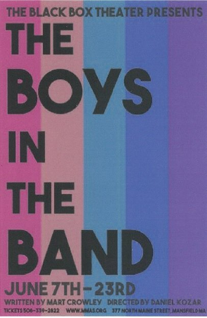 MMAS Presents The Boys In the Band