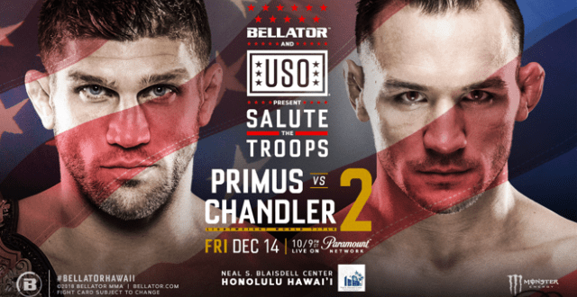 Bellator and USO Present: Salute the Troops 2019