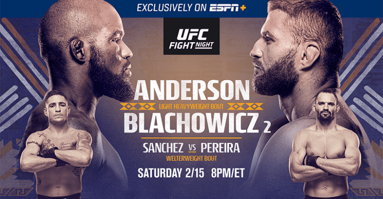 UFC Fight Night: Anderson vs. Blachowicz 2 Live Stream