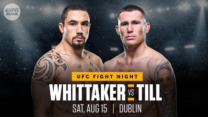 UFC Fight Night: Whittaker vs Till