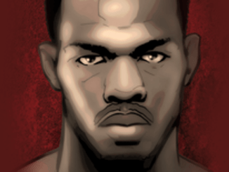 Jon Jones (art credit Grant Gould © MMATorch)