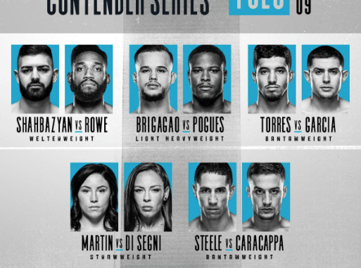 Contender Series ep 9