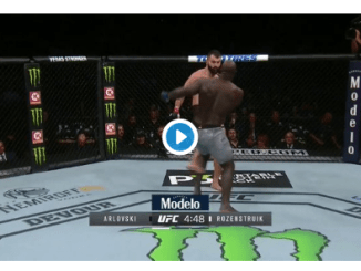 Jairzinho Rozenstruik makes quick work of Andrei Arlovski
