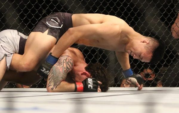 MMA: UFC Fight Night-Busan-Edgar vs Korean Zombie