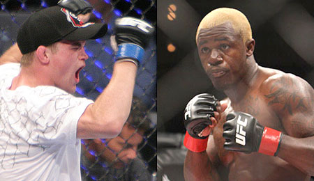 Evan Dunham and Melvin Guillard - UFC Fight For The Troops 2