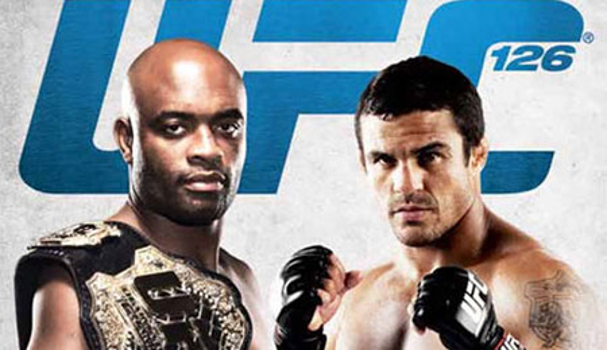 UFC 126 Anderson Silva vs Vitor Belfort poster