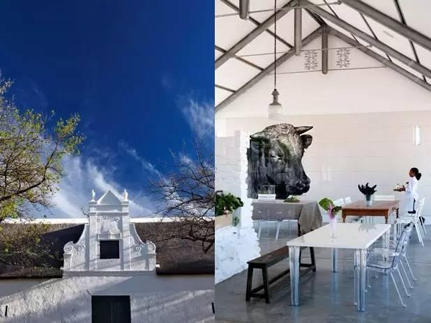 oak kitchen chairs table & 农场+酒店怎么搞?看世界上保存最好的农庄——南非babylonstoren_筑梦乡村-爱微帮