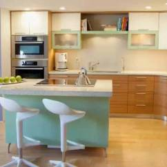 Kitchen Island With Range Ceramic Cabinet Knobs 小户型厨房装修全攻略最爱的就是那个中岛的 厨房岛与范围