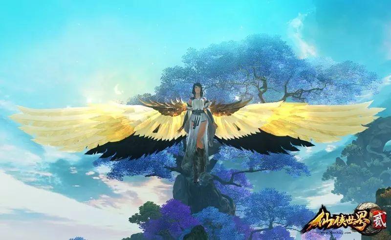 《仙俠世界2》那些既實用又美爆的「翅膀」,轉涅盤,可「她」卻是「他」 - 每日頭條