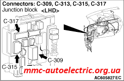 Code No. C145D: Wiring harness or coupling coil open