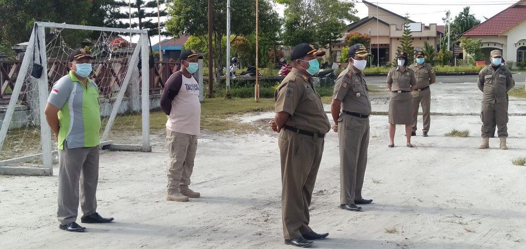 HUT KE- 71, POLISI PAMONG PRAJA DAN SATUAN LINMAS MELINDUNGI DAN MEMBERI RASA AMAN BAGI MASYARAKAT 4