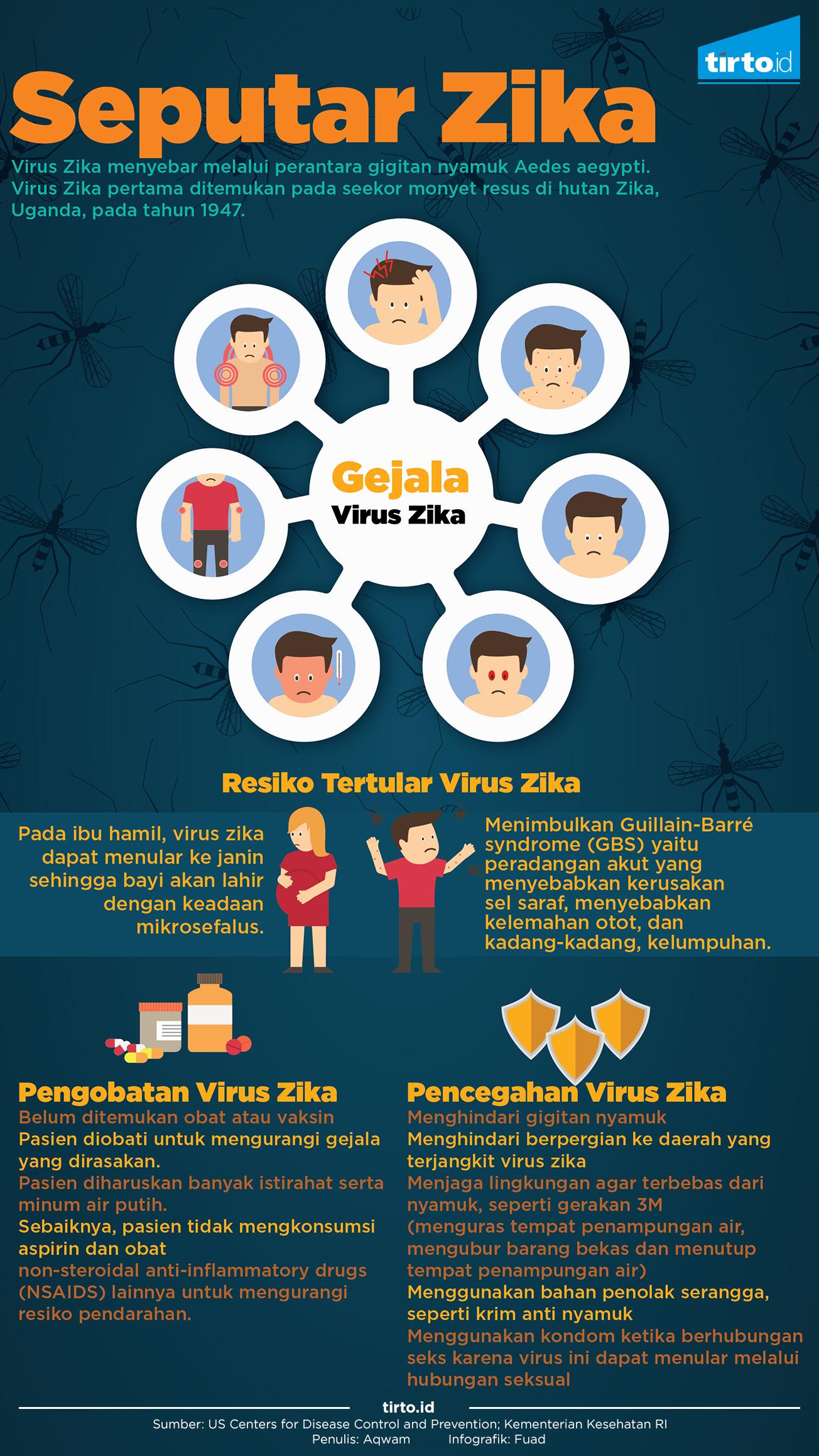 Mengapa Zika Belum Heboh di Indonesia? - Tirto.ID