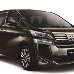 All New Alphard Vs Vellfire Kijang Innova Facelift Harga Toyota Dan Yang Dirilis Hari Ini