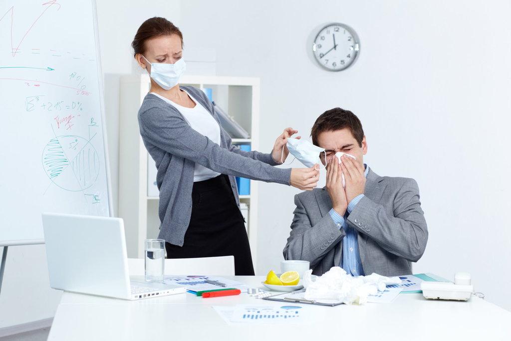 Memutus Rantai Virus Flu di Kantor yang Bikin Rugi Perusahaan ...