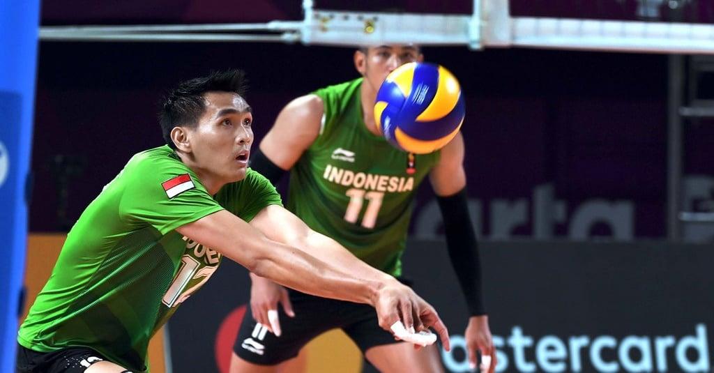 Jadwal Voli Putra Asian Games Indonesia vs Korea pada 28