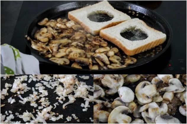 tosty z jajkiem śniadanie