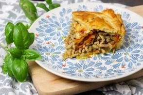 Meat Pie czyli mięso mielone w cieście francuskim