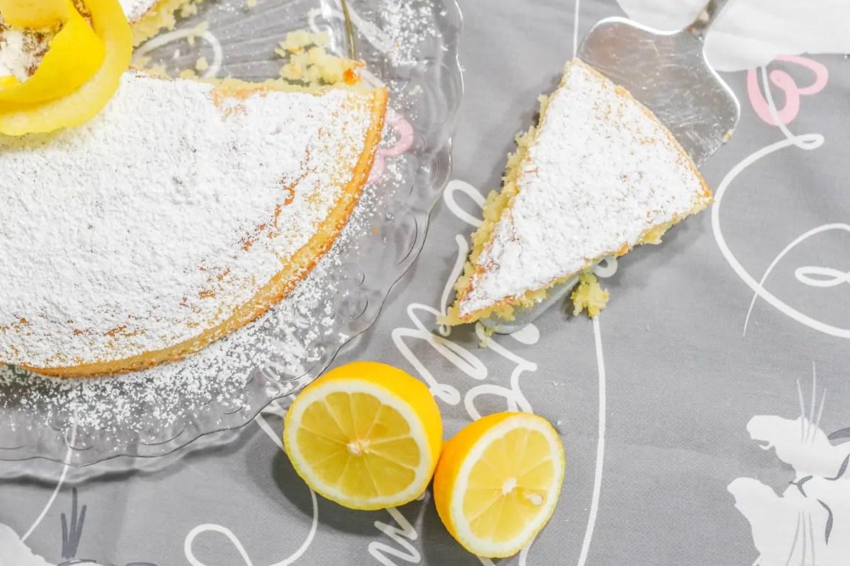 Ciasto cytrynowe - no pyszne no!