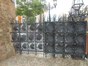Main gate - model for 'leaves' in the workshop at Sagrada Familia