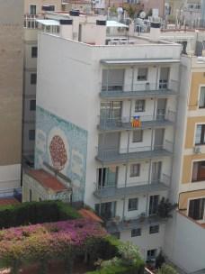 Overlooking the neighbours