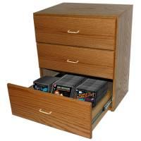 Media Chest 3-drawer DVD/Blu-ray